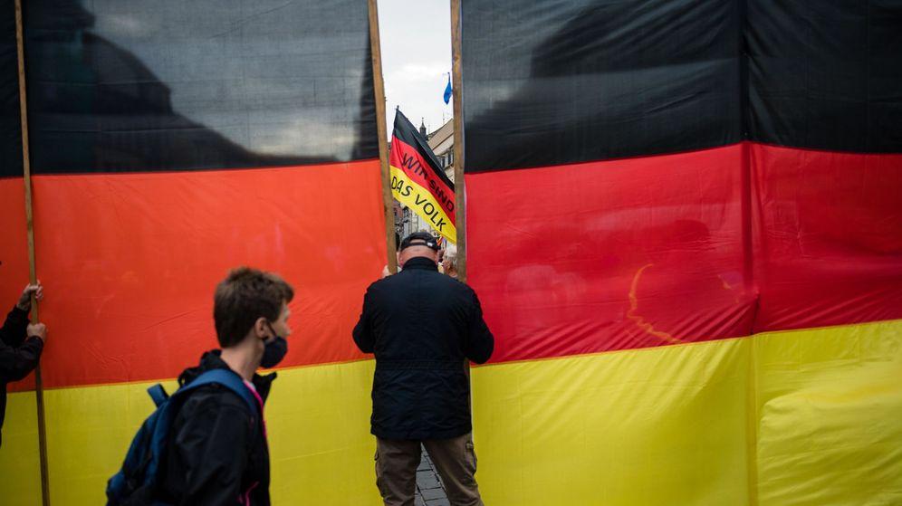 Foto: Rally de Afd en Altenburg. (EFE)