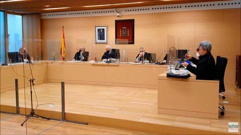 Un tribunal obliga a un abogado a ponerse la mascarilla durante un juicio