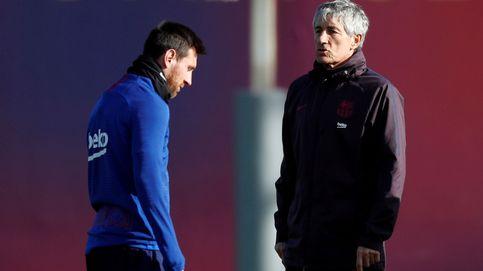Setién: ¿Messi? No me hace falta que nadie me diga lo que dijo Martino, lo he vivido