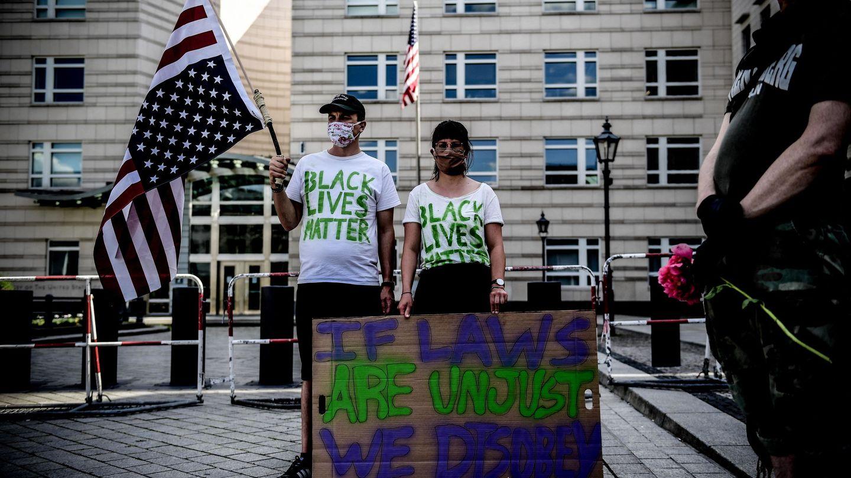 Protesta en Estados Unidos. (Reuters)