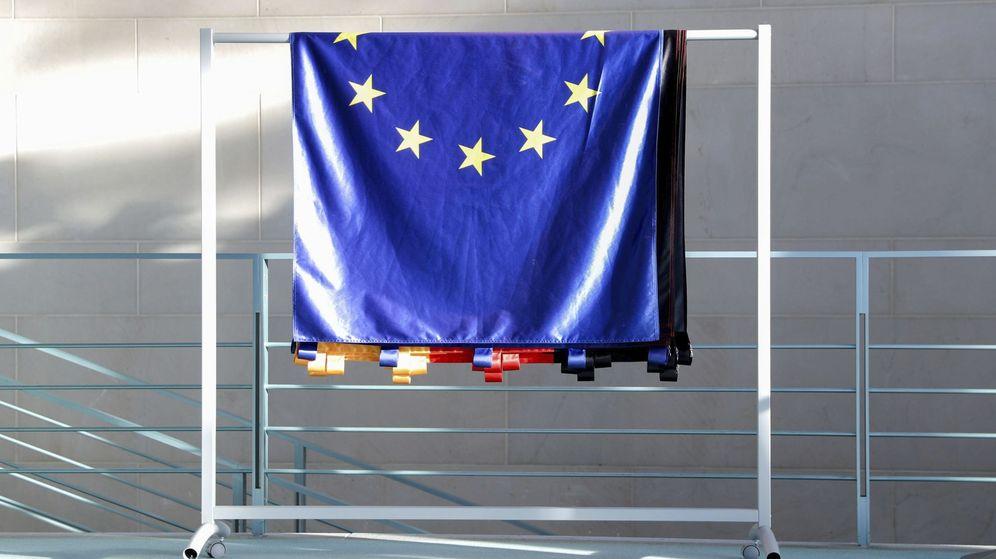 Foto: Una bandera de la Unión Europea. (EFE)