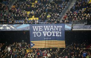 Fuera de Cataluña, las peñas del Barça 'pasan' de la independencia