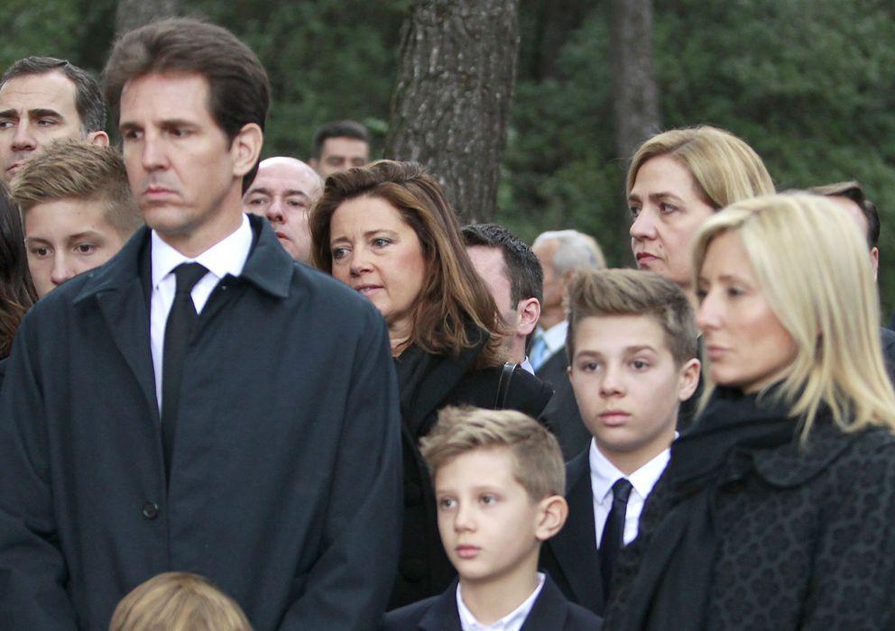 Foto: Marie Chantal junto a dos de sus cinco hijos. En el centro, Odysseas (Gtres)