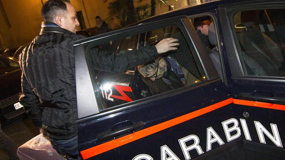 Foto: Imagen de archivo de los carabinieri en una operación contra la mafia. (EFE)