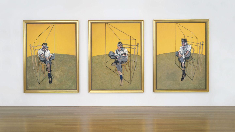 'Tres estudios de Lucian Freud', de Francis Bacon (EFE)