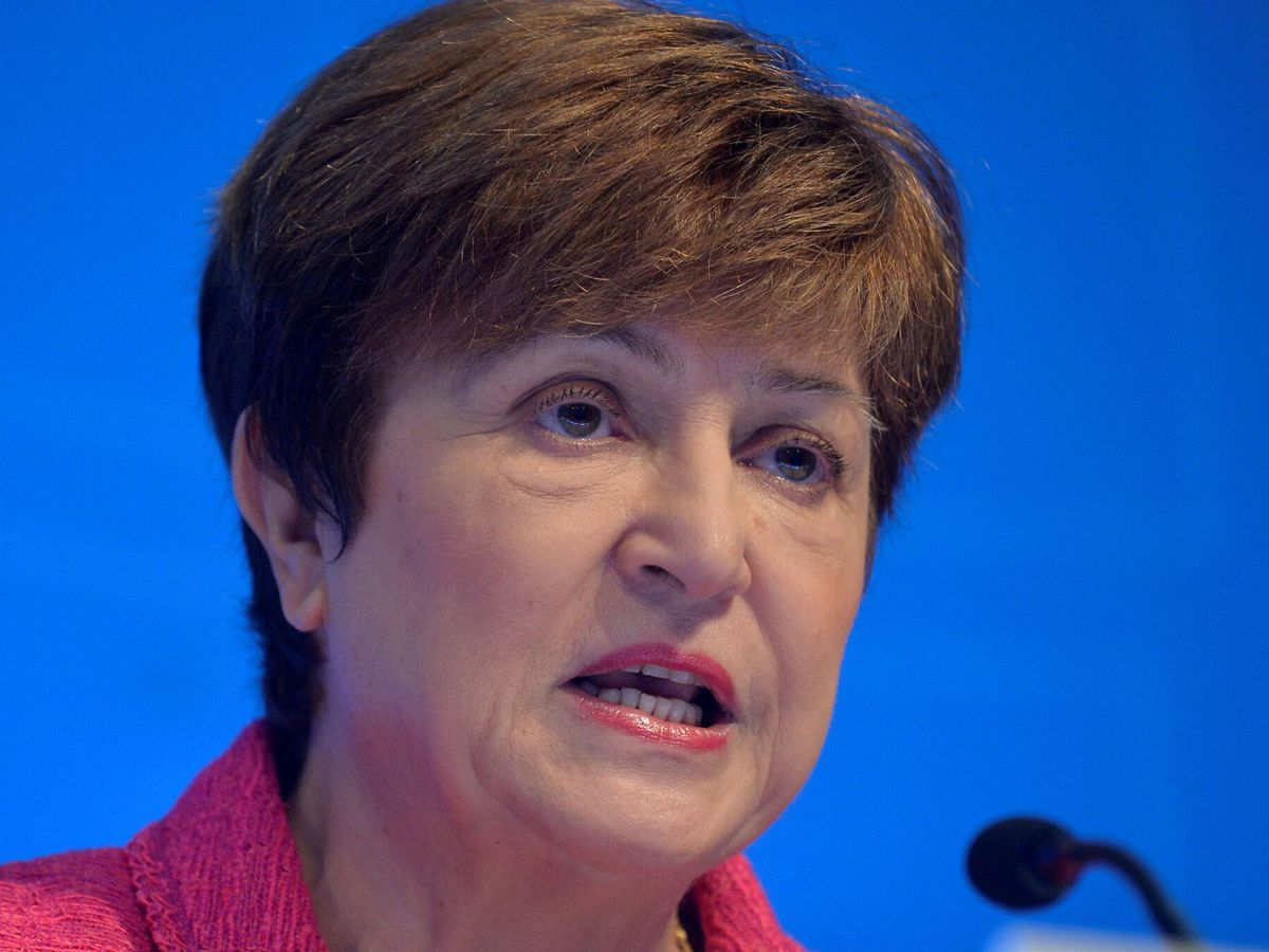 Foto: La gobernadora del Fondo Monetario Internacional, Kristalina Georgieva. (EFE)