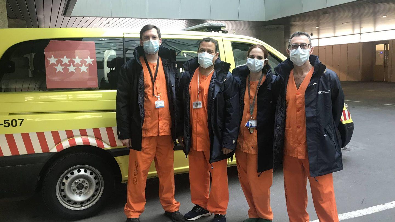 Equipo del Hospitla Gregorio Marañón para el trasplante