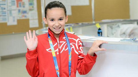 Una niña entre gigantes: Alzain Tareq, 10 años, nadará en el Mundial de Kazán
