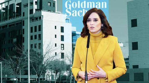 Goldman busca un pacto con Ayuso tras el fiasco de su mayor compra de vivienda