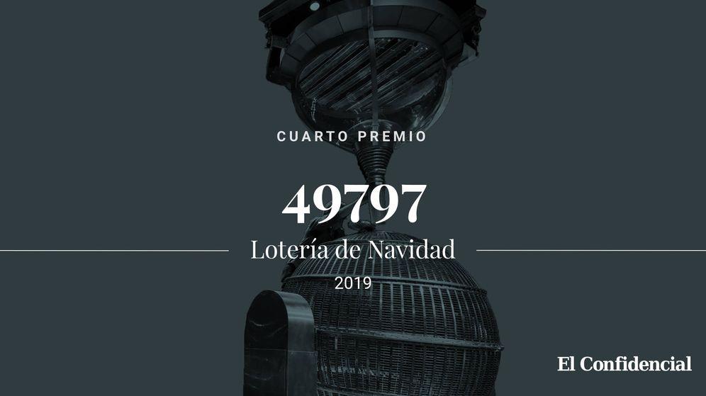 Foto: Cuarto premio de la Lotería de Navidad de 2019. (El Confidencial)