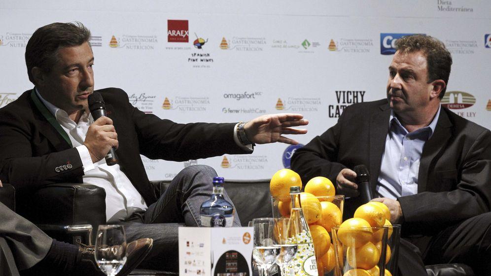 Foto: Joan Roca y Martín Berasategui. (EFE)