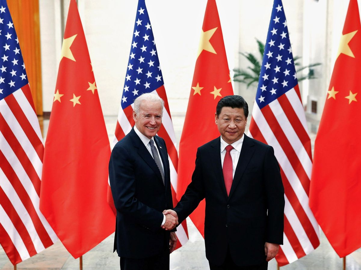 Foto: Xi Jinping y Biden, en una imagen de 2013. (Reuters)