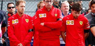 Post de Leclerc se suma a la crisis de un equipo que no está a la altura del nombre Ferrari
