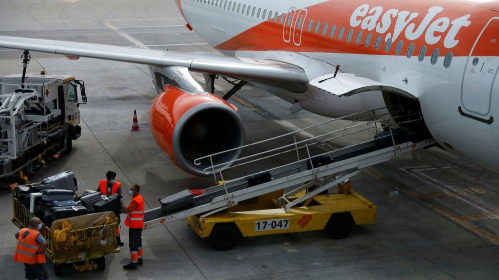 Foto: Un avión de easyJet en el aeropuerto de Lisboa. (Reuters)