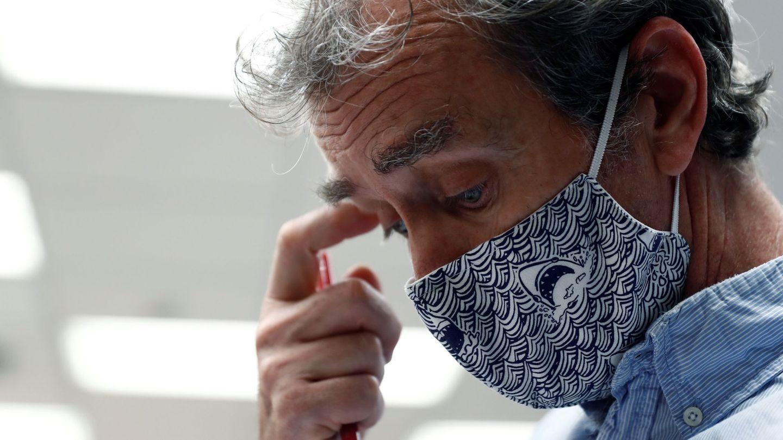El director del Centro de Coordinación de Alertas y Emergencias Sanitarias, Fernando Simón, hoy. (EFE)