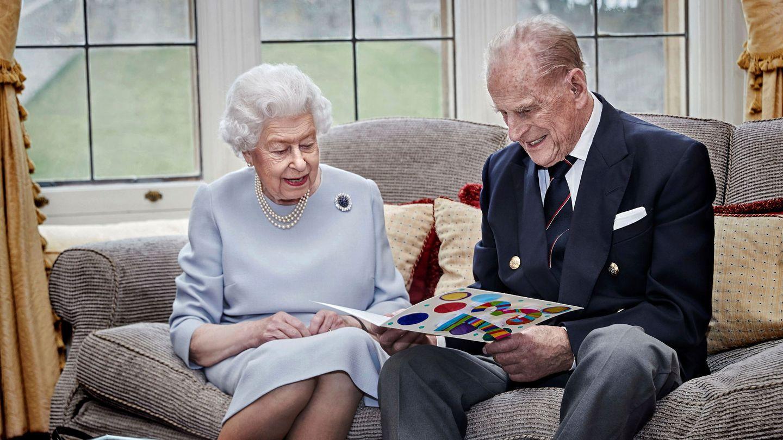 La reina Isabel y el duque de Edimburgo, el pasado noviembre en Windsor. (Reuters)