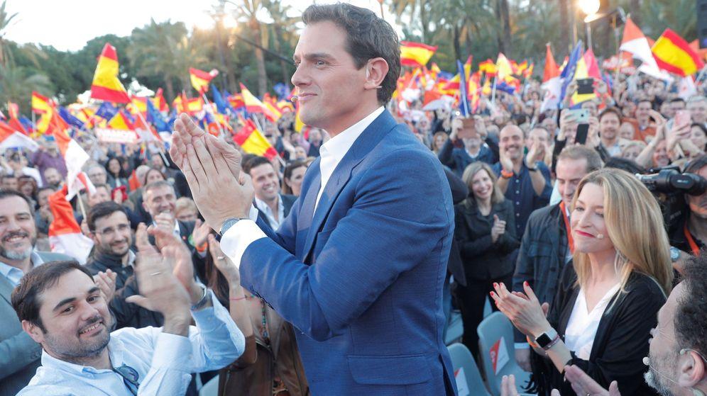 Foto: El candidato de Ciudadanos a la presidencia, Albert Rivera. (EFE)