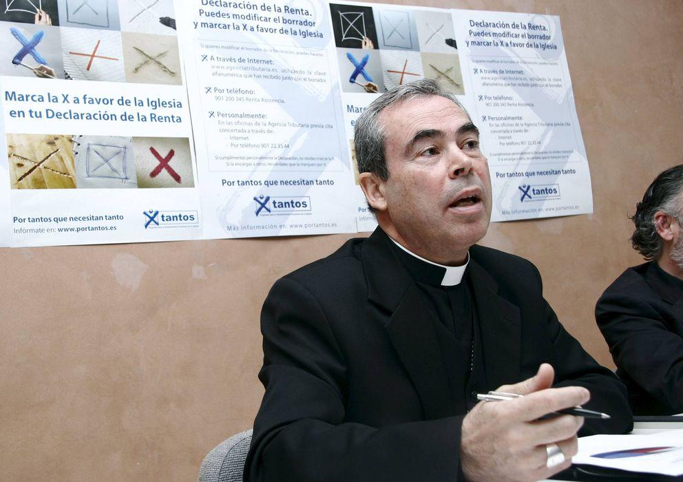 Foto: El obispo de Málaga, Jesús Catalá. (EFE)