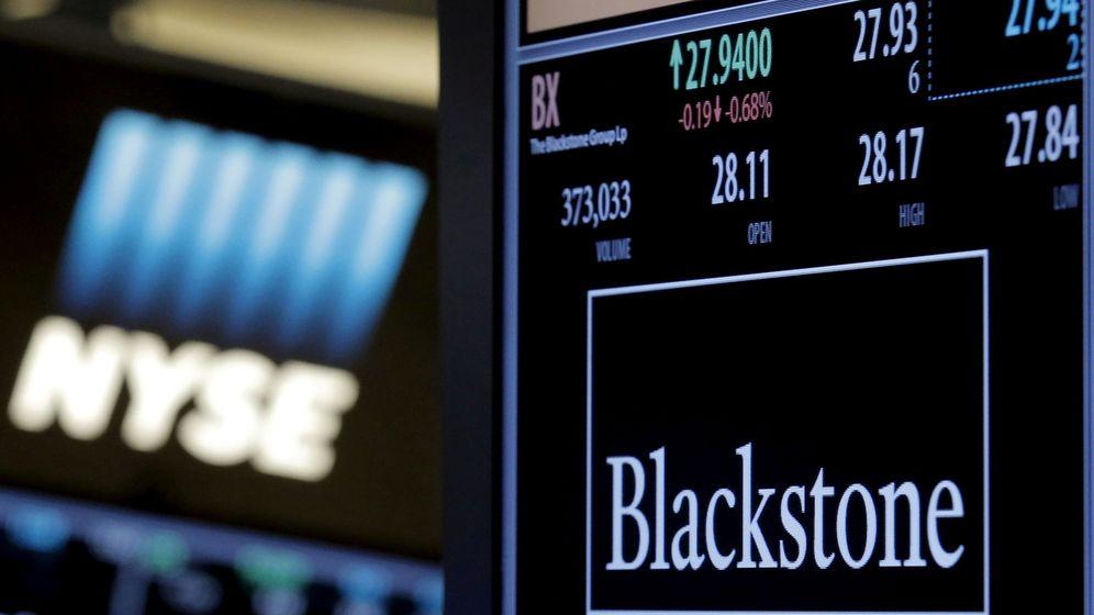 Foto: El logo de Blackstone. (Reuters)