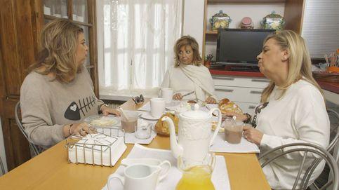 Las Campos graban en casa de Teresa el 'Mi casa es la tuya' de Bertín