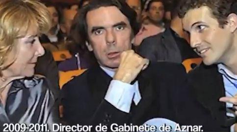 'Cuéntame' (segunda parte): un vídeo retrata la trayectoria de Casado con Aguirre y Aznar