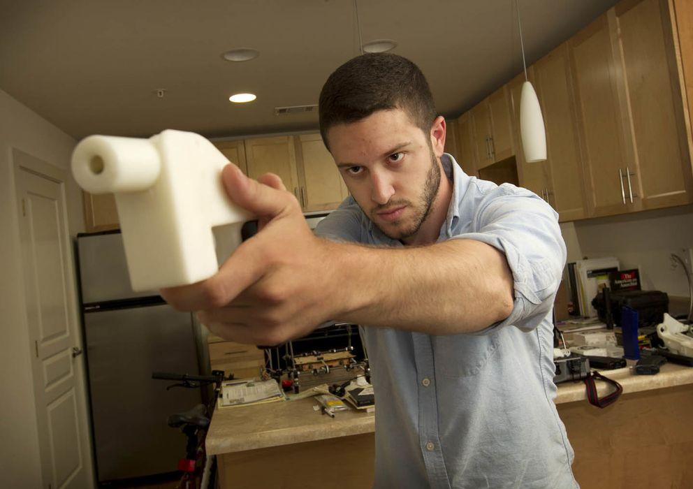 Foto: Cody Wilson, el diseñador de 'Liberator', la pistola que se imprime en 3D