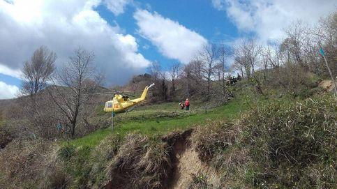 Fallece una niña de 3 años en Cantabria, tras volcar un tractor en que viajaba