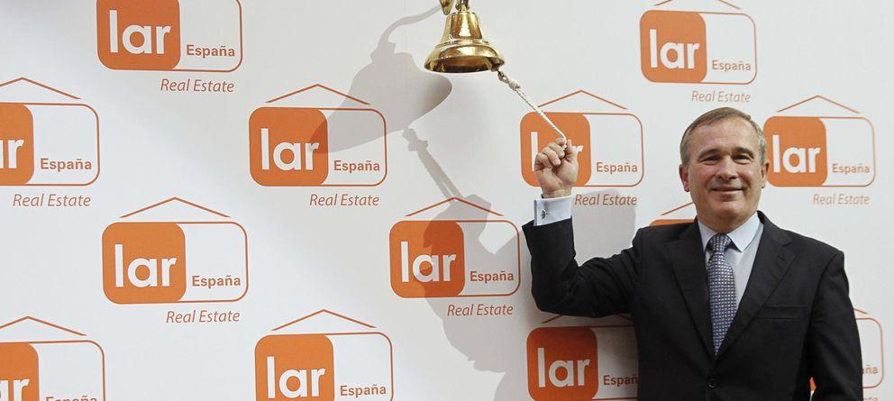Foto: El presidente de Lar España Real Estat, José Luis del Valle. (EFE)