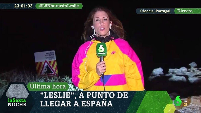 Foto: La reportera Isabel Zubiaurre, en 'La Sexta noche'. (Atresmedia).