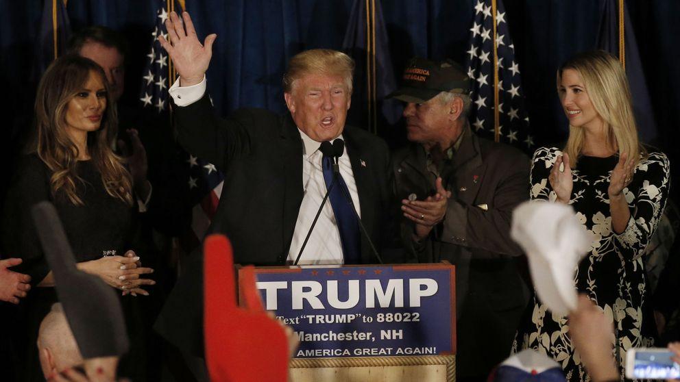 América quiere nuevos partidos: Trump y Sanders arrasan en New Hampshire