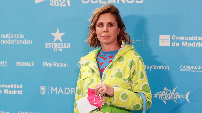 La diseñadora, en la I Edición de los Premios Madblue. (EFE)