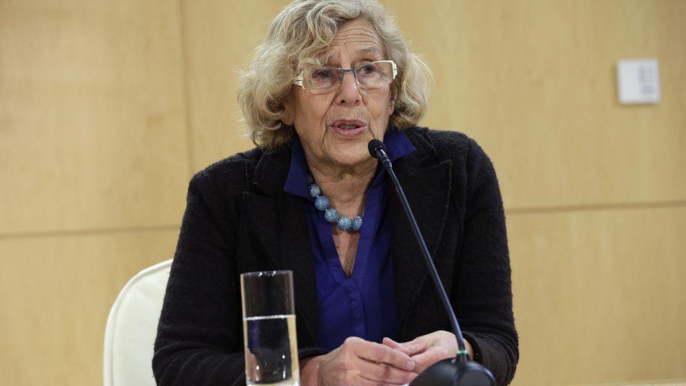Foto:  La alcaldesa de Madrid, Manuela Carmena, en el Palacio de Cibeles. (EFE)