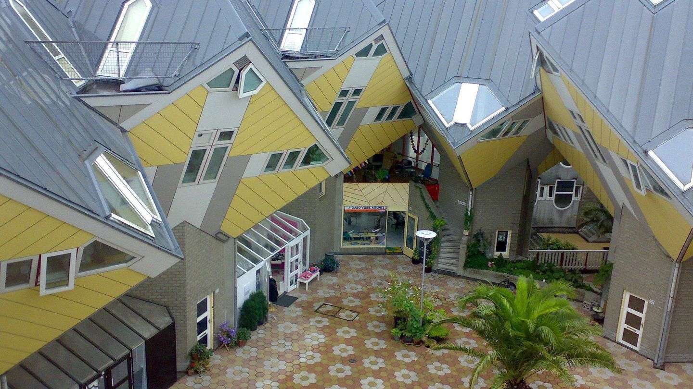 Casas Cubo, de Rotterdam.