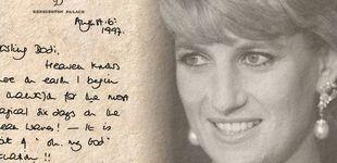 Post de Los secretos de Diana de Gales ocultos en su escritura