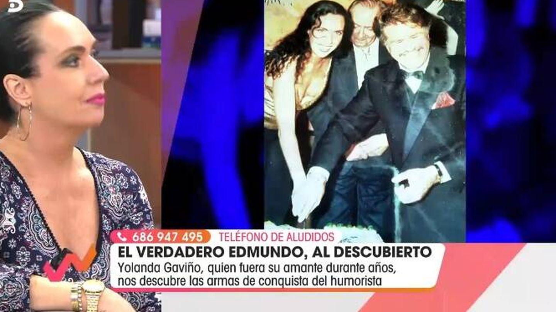La amante de Bigote, en 'Viva la vida'. (Mediaset).