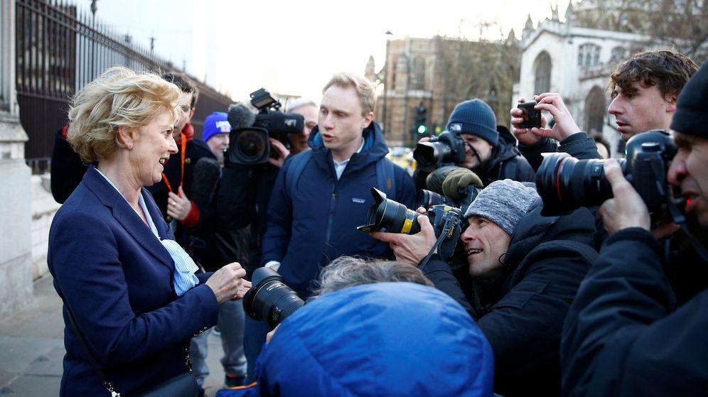 Foto: La diputada Anna Soubry, una de las proeuropeas que se va del partido Conservador. (Reuters)