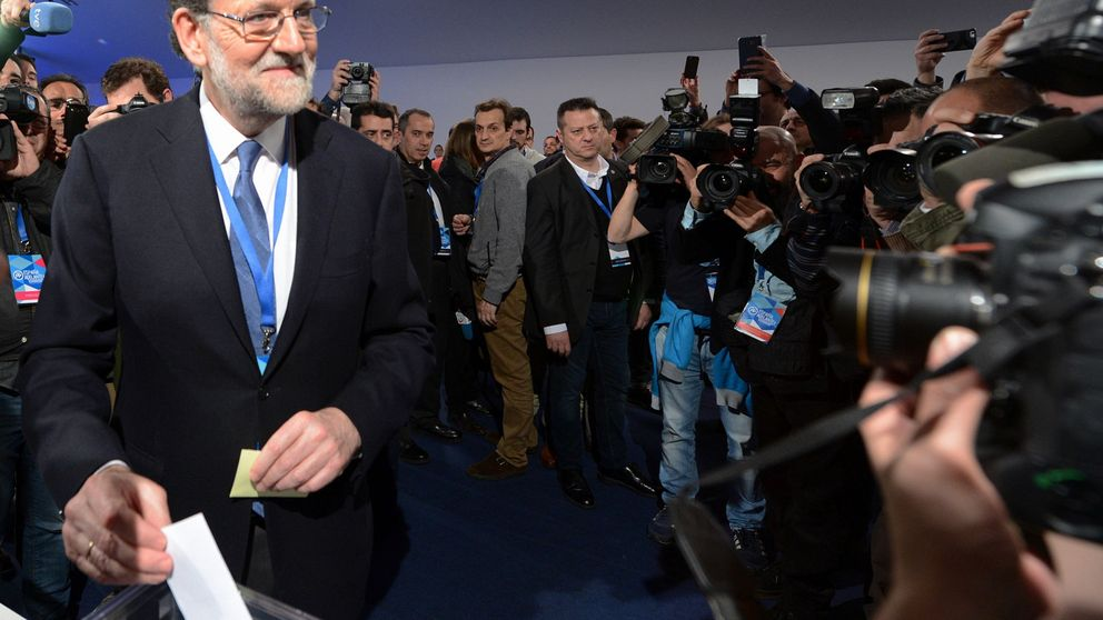 Rajoy es reelegido como presidente del PP por el 95,65% del partido