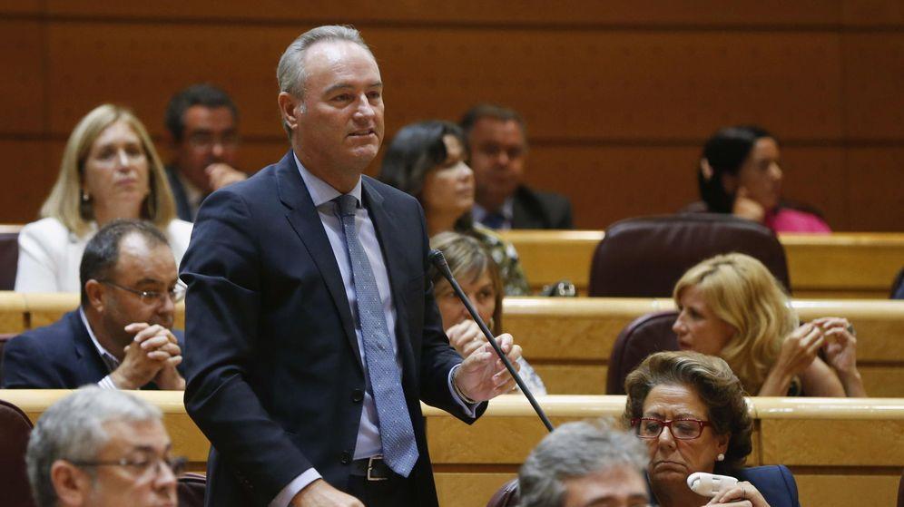 Foto: El expresidente de la Comunidad Valenciana Alberto Fabra. (EFE)