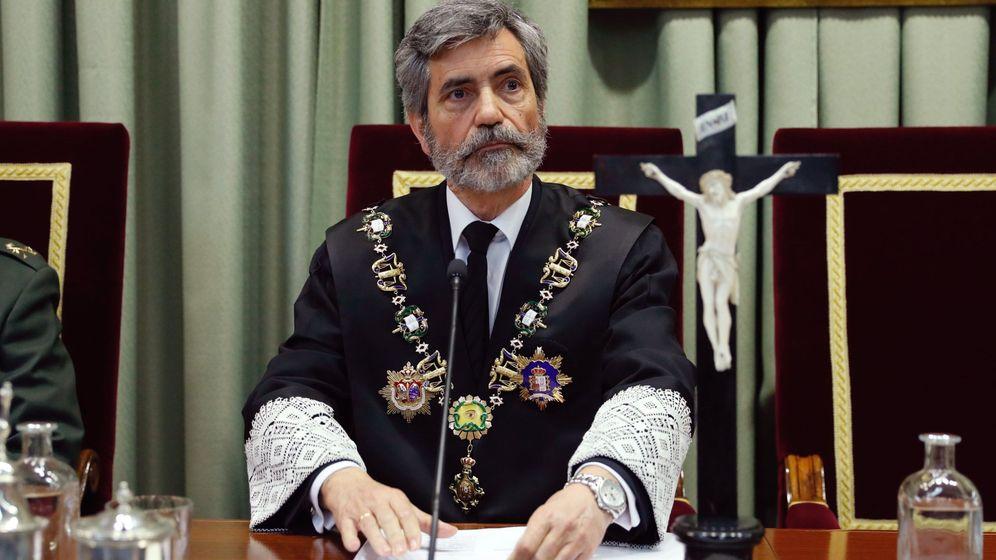 Foto: El presidente del Tribunal Supremo y del Consejo General del Poder Judicial, Carlos Lesmes. (EFE)