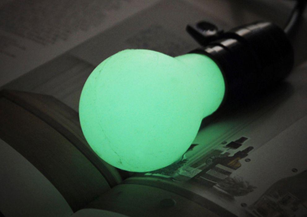 Foto: La bombilla de silicona que no utiliza electricidad