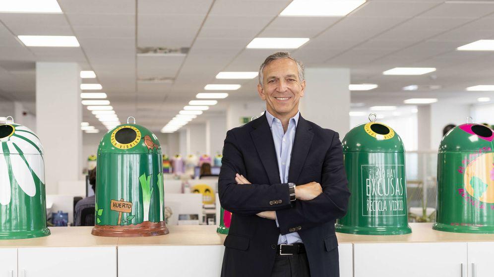 Foto: José Manuel Núñez-Lago, director general de Ecovidrio. (EC)