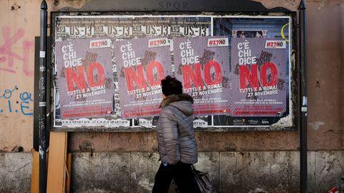 Con canas y en butacas de terciopelo: el Woodstock del no contra Renzi