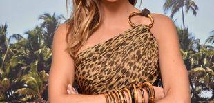 Post de Lara Álvarez presenta 'Supervivientes' con su look más salvaje