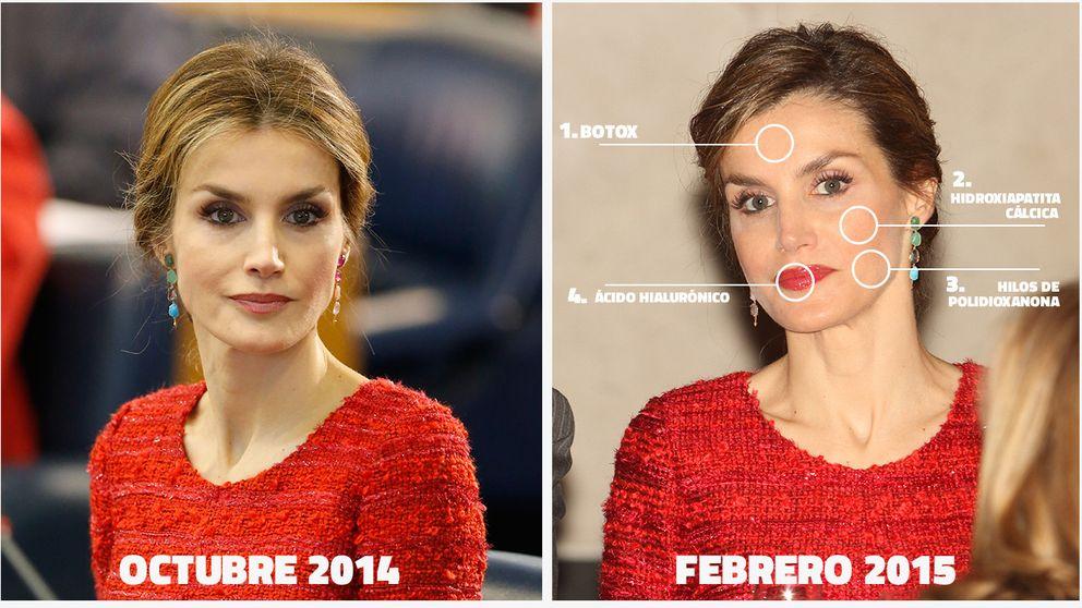La Reina Letizia pasa por 'boxes' para empezar bien guapa el 2015
