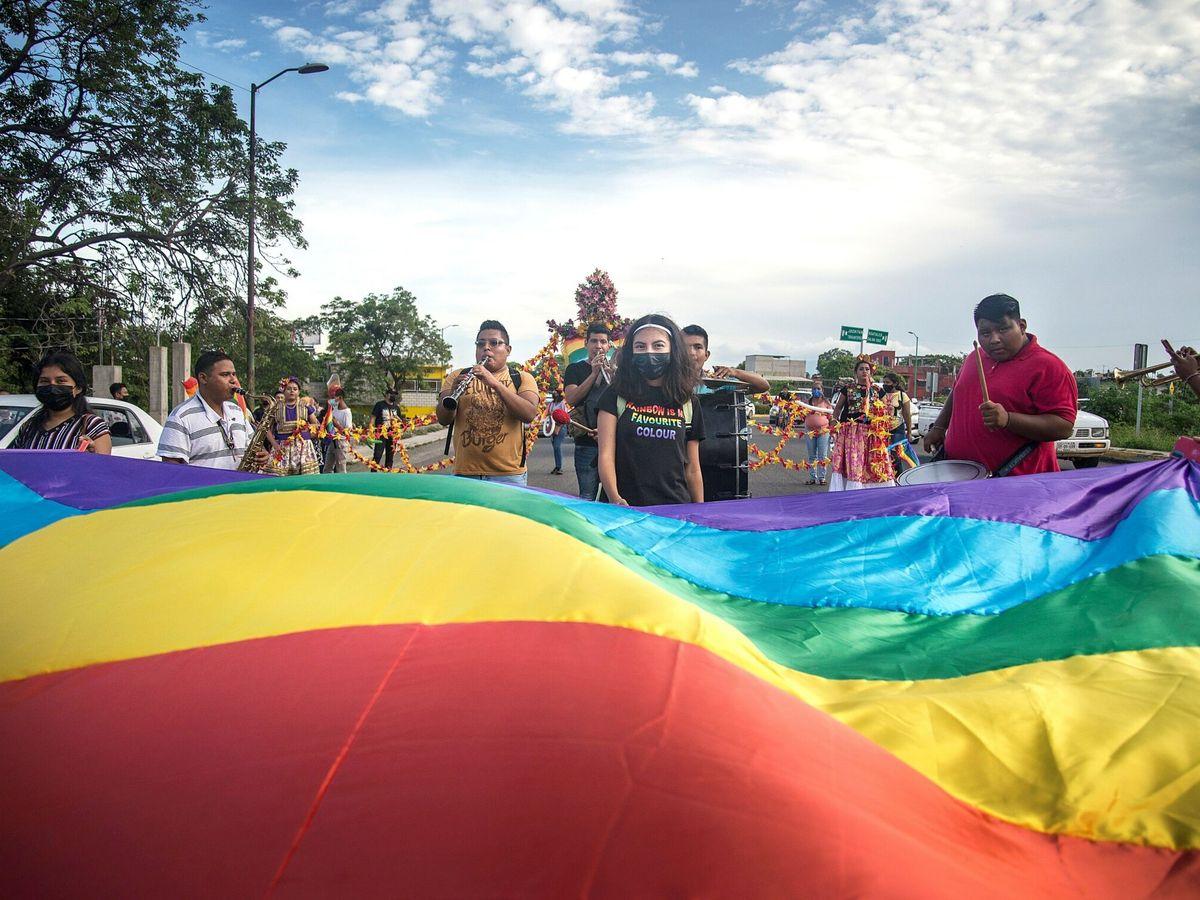 Foto: Una marcha LGBT en México. (EFE)