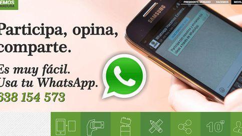 Los partidos que utilizan ilegalmente WhatsApp para hacer campaña