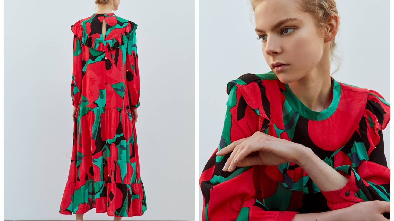 Nuevo vestido de Sfera. (Cortesía)