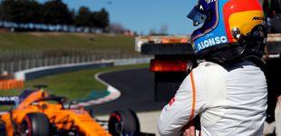 Post de En directo, test de F1 | Alonso vuelve a romper con su McLaren (tras volar)
