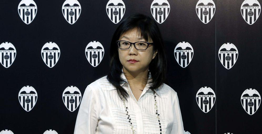 Foto: En la imagen, la presidenta ejecutiva del Valencia, Lay Hoon (EFE)