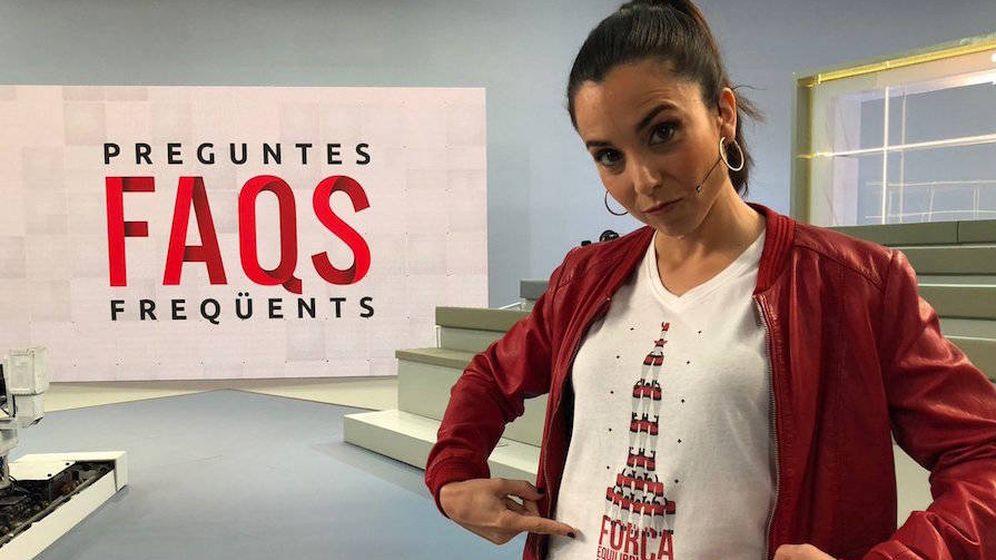 Foto: Laura Rosel, presentadora de 'Preguntes Freqüents' en TV3. (CCMA)